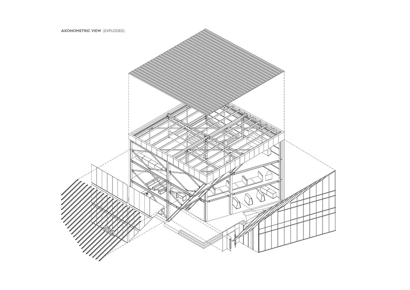 Akij Pavilion © Volumezero Ltd | illustration: Lamia Wali Upama