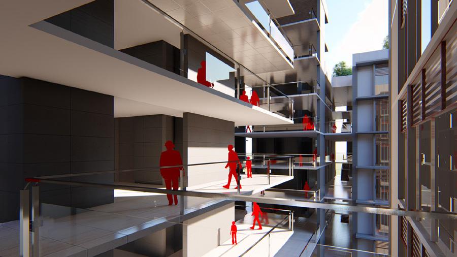 Corridor as street © Abu Sayeed Mohammed Ziad