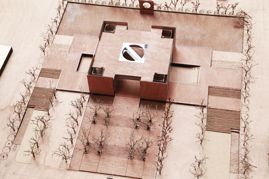 National Parliament Museum as conceived by Razia Azad , Bangladesh University