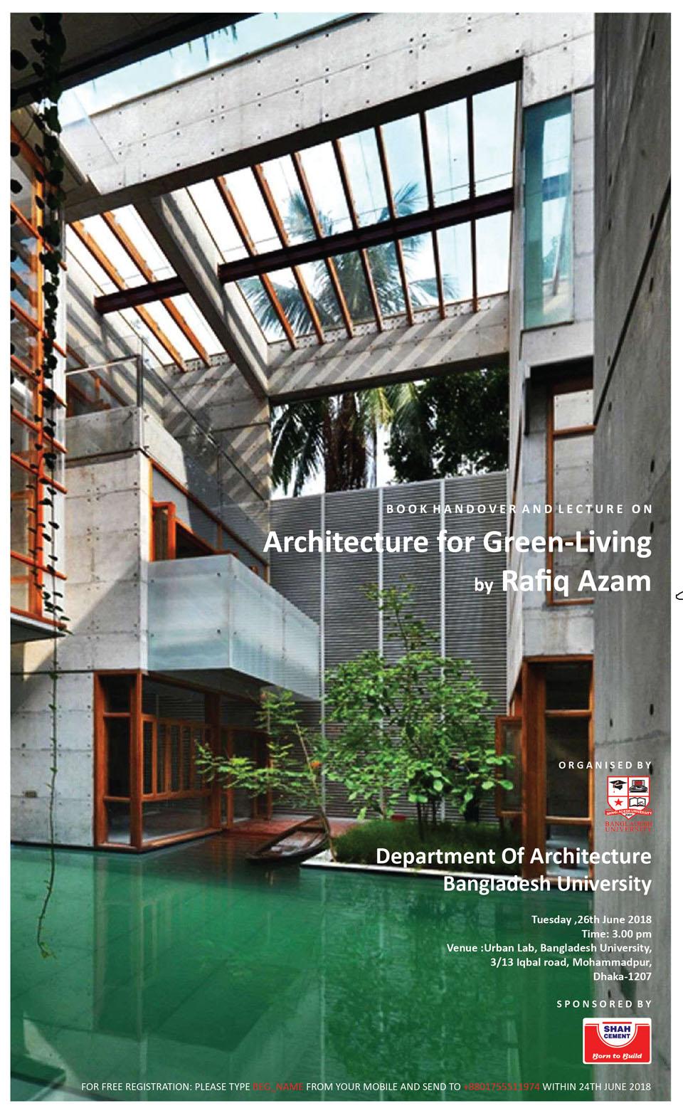 © Architecture for Green Living | Ar. Rafiq Azam