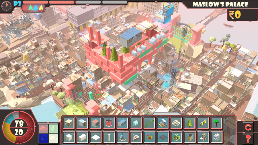 Maslow's Palace game screen capture © Hamish Beattie