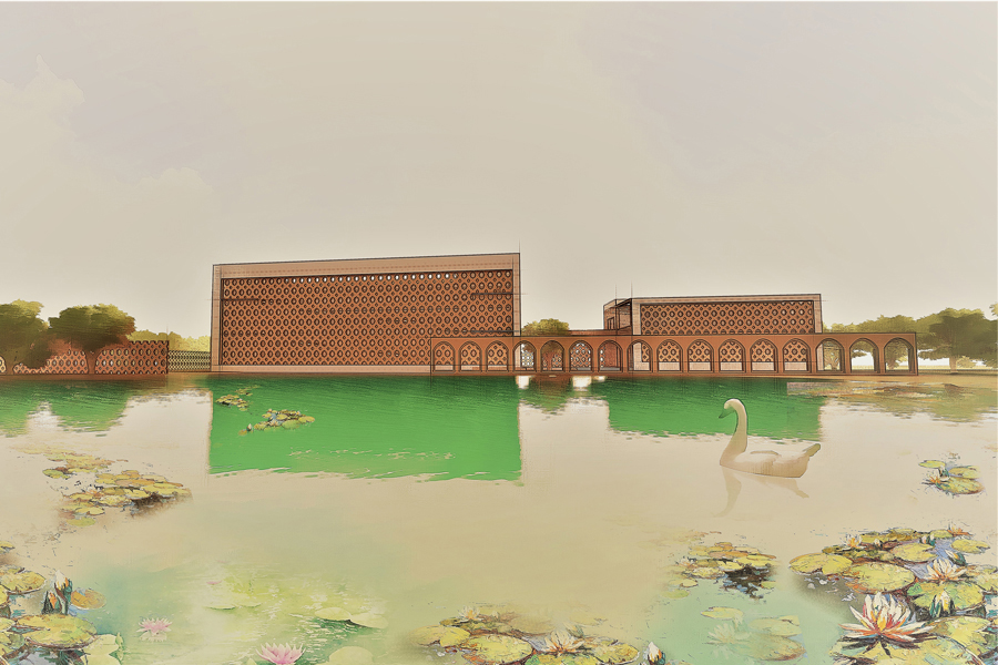 Proposed Gaur Museum © Asif Zaman | AIUB