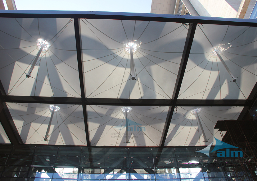 Entry Canopy at Radisson Blu Bay View Hotel Chittagong © ALM Tensile Membrane Structure Ltd