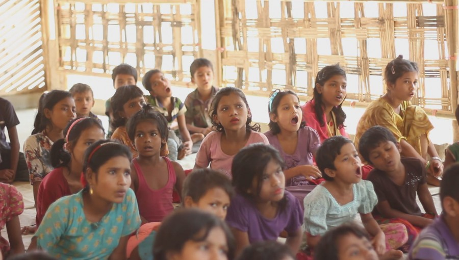 Child Learning Center at Thaingkhali Rohingya Camp