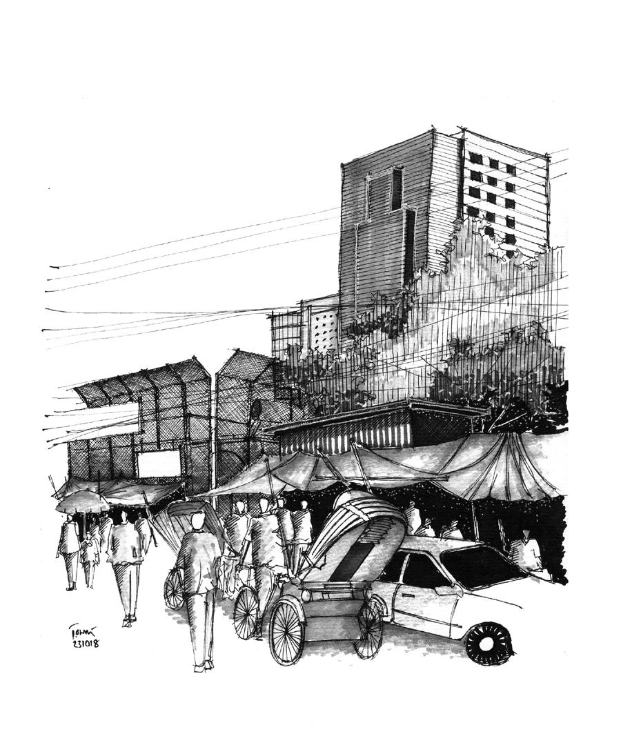 Kawran/ Karwan Bazar, Dhaka © Sheikh Rishad Ahmmad Aurnob