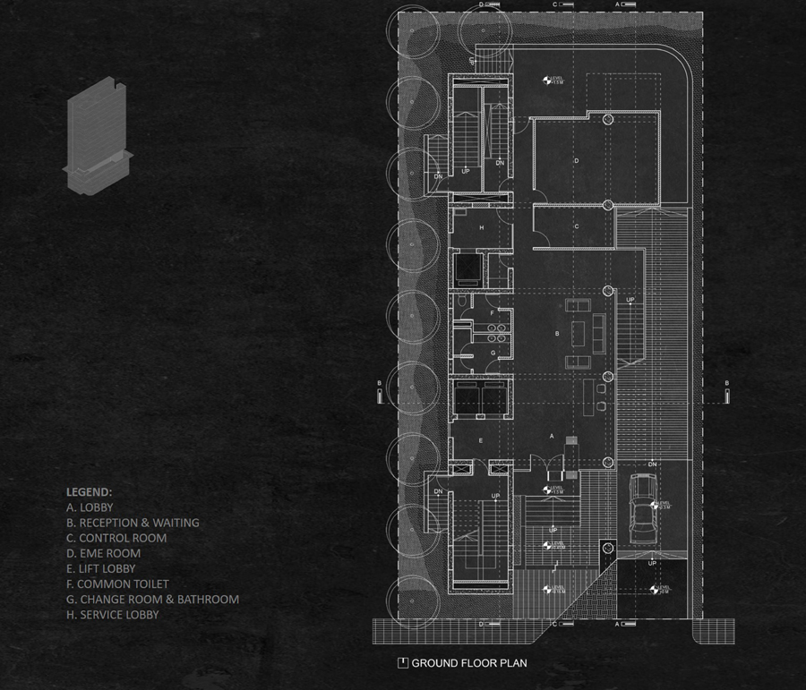 Ground floor plan © Studio Morphogenesis Ltd.
