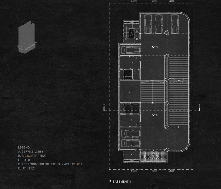 Basement plan © Studio Morphogenesis Ltd.