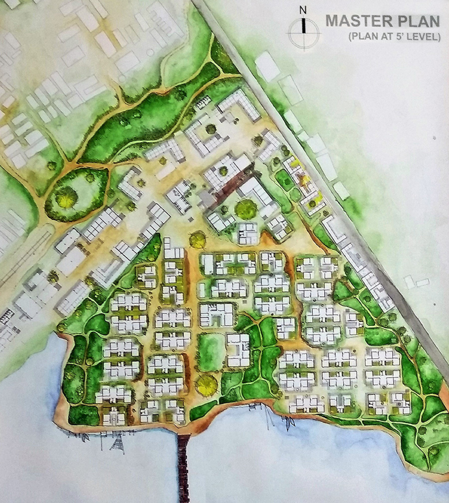 Proposed redevelopment plan © Shamima Sultana Setu | AIUB