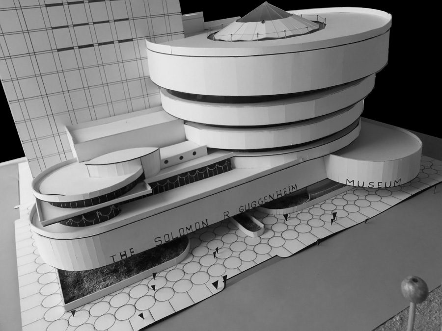 Solomon R. Guggenheim Museum by Frank Lloyd Wright | Courtesy: Dept of Architecture, AIUB