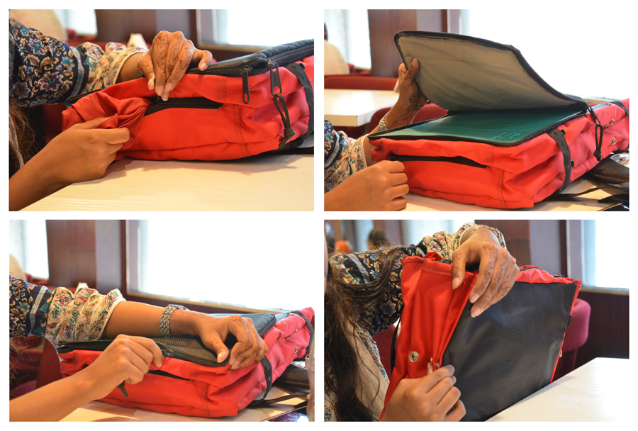 Three Pocket Bag - Multi functional use © Dept. of Architecture, CUET