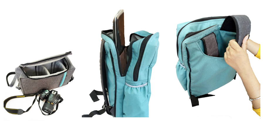 Travel Backpack - use © Dept. of Architecture, CUET