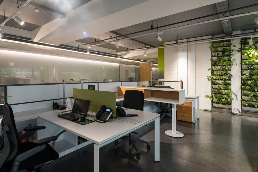 Green office for BIFFL © ARCHVISTA