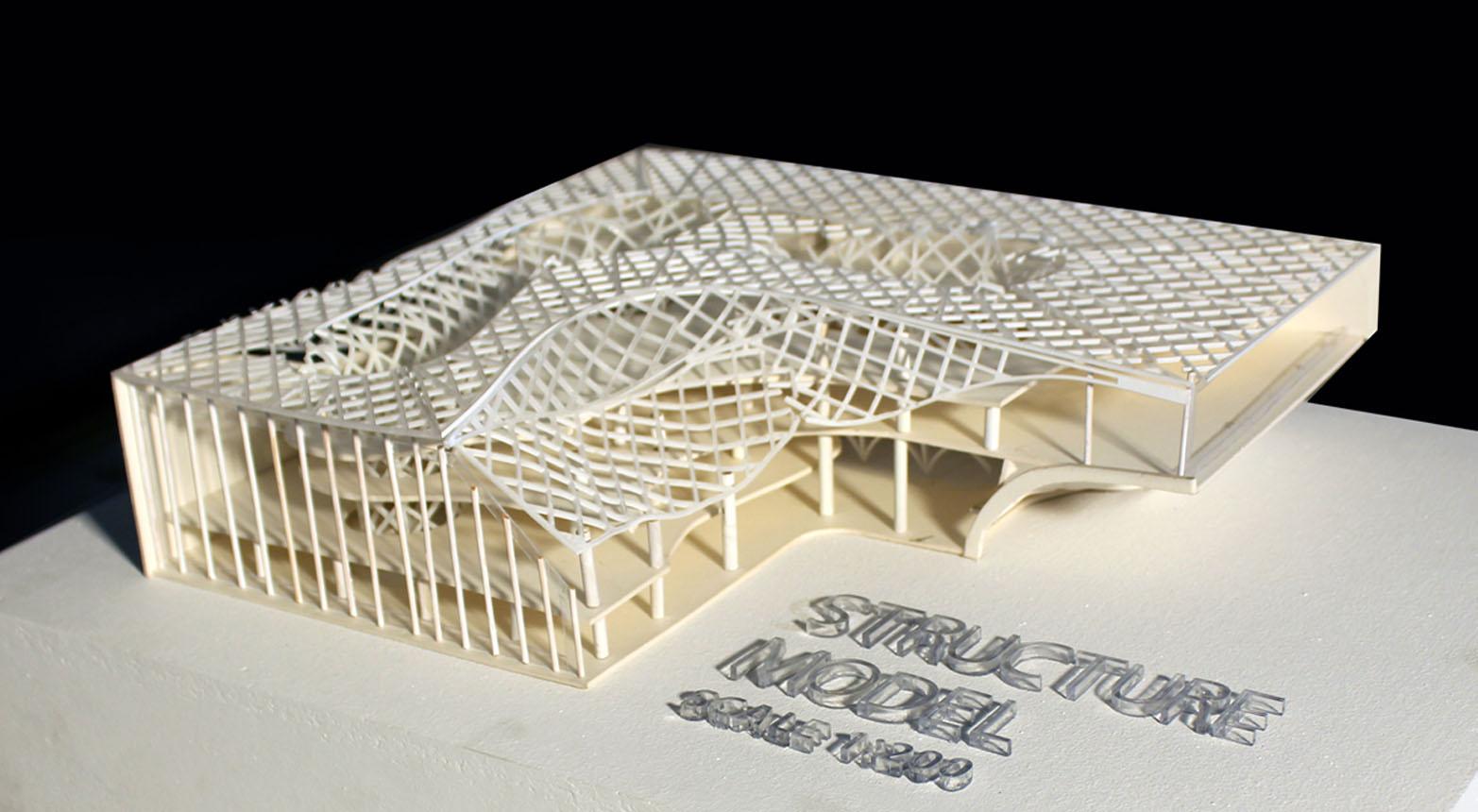 Structural Model © Baichi Chaki