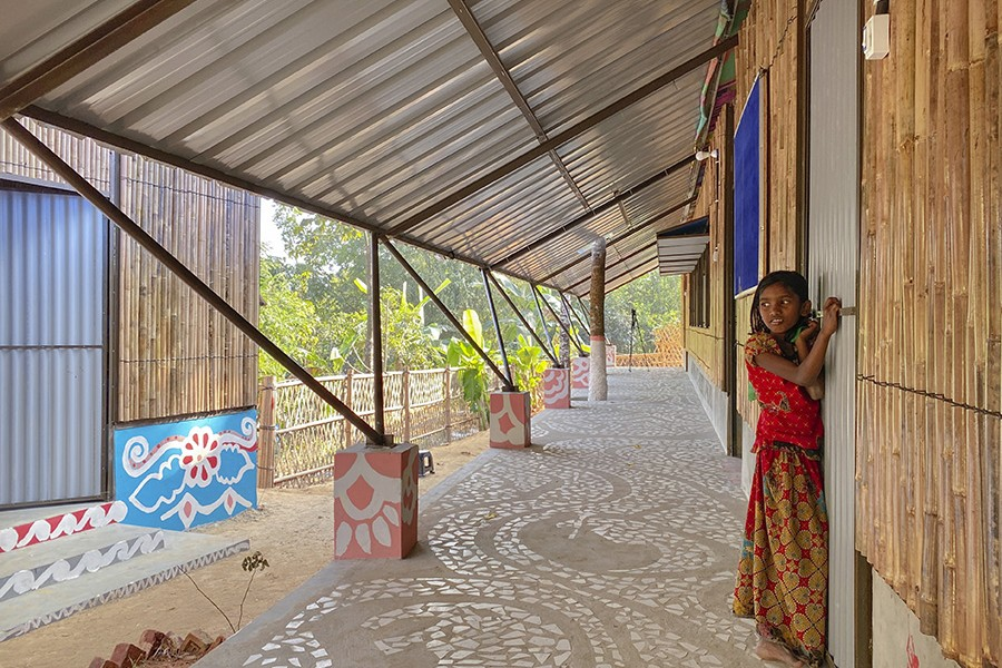 Integrated Community Centre in  Kutupalong Rohingya Refugee Camp © Rizvi Hassan and Team