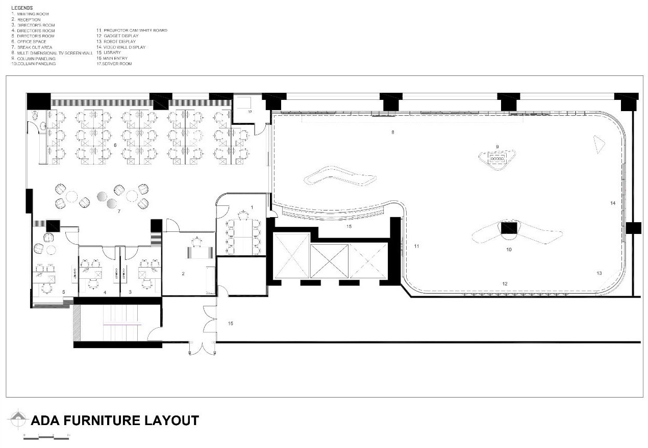 Interior layout © ARCHVISTA