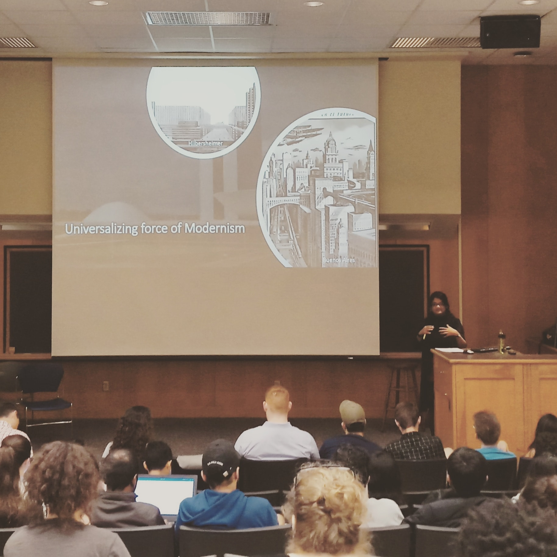 Nubrus Samayeen is delivering lecture on History and Theory at Howard University in Washington DC.