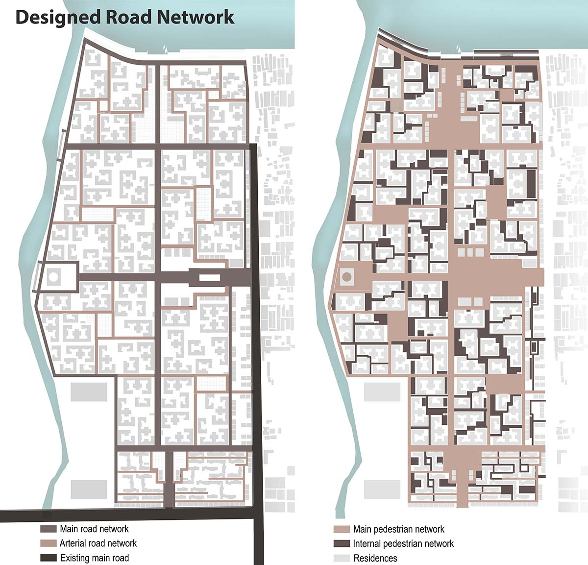 Proposed road network © MIST