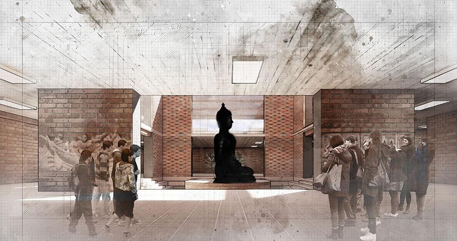 Museum center shrine © Fuad Hasan Tanvir