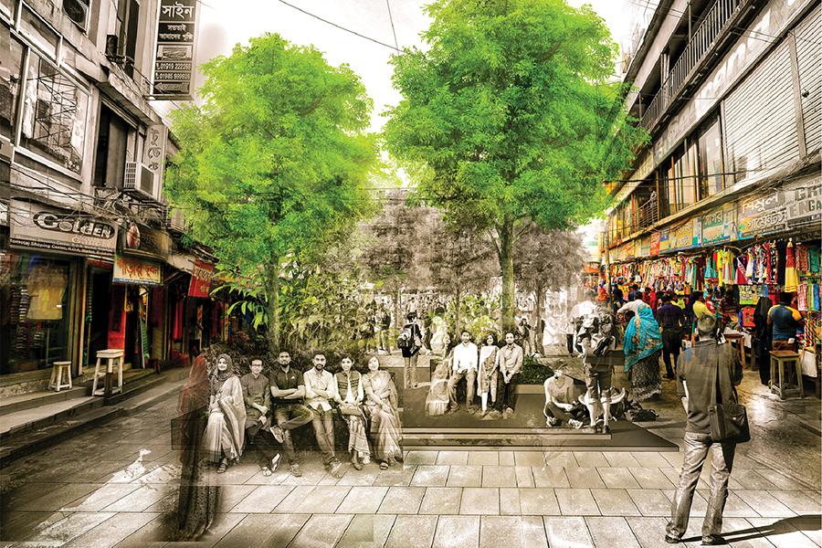 Public space (RDA market) © Swarajit Sarker