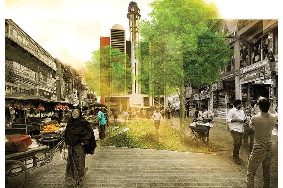 Public space (zero point) © Swarajit Sarker