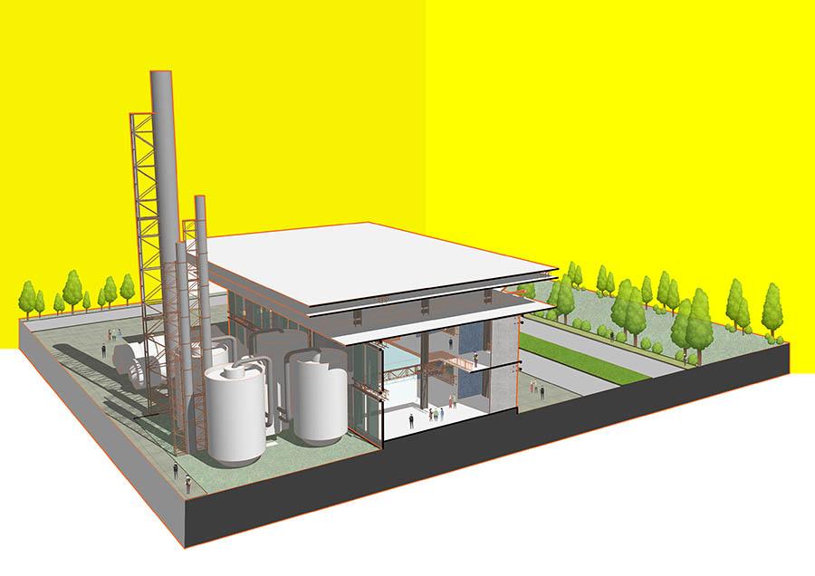 Waste to Energy plant section © Farhan Arif Rahman | CUET
