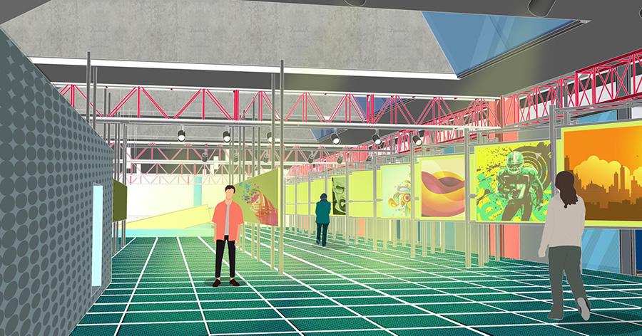 Year 2042: MRF plant transformed into public utility building
