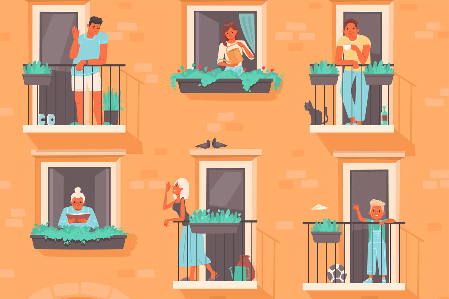 How can the co-living housing model be sustainable in the future?